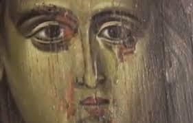 Ιδού η δούλη Κυρίου· γένοιτό μοι κατά το ρήμα Σου ή γενηθήτω το θέλημά μας;