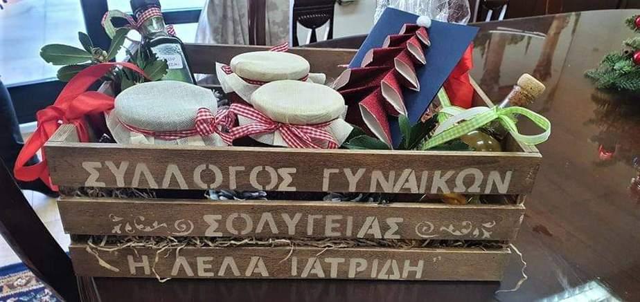 Γεύσεις και αρώματα Σολυγείας στο γραφείο του Δημάρχου Κορινθίων Βασίλη Νανόπουλου.