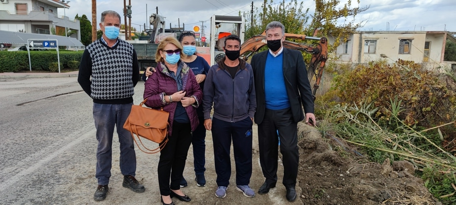 Β.Νανόπουλος: Ξεκίνησε σήμερα το έργο που θα δώσει υψηλής ποιότητας νερό σε Άσσο, Λέχαιο, Περιγιάλι