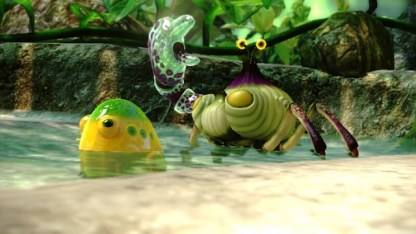 Pikmin's versions of frogs and crabs.
