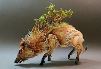 Celtic Boar by Ellen Jewett