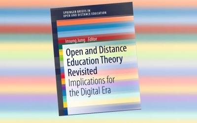 Dr. Tony Bates napisal recenzijo knjige Open and Distance Education Theory Revisited