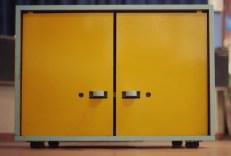CNC milled lockable furniture