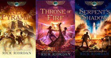 Rick Riordan'ın Kane Günceleri Serisine Film Çekilecek!