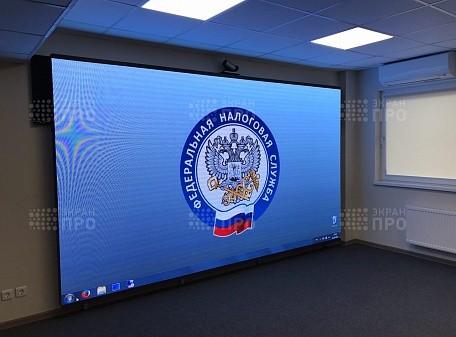 Интерьерный экран. Налоговая служба