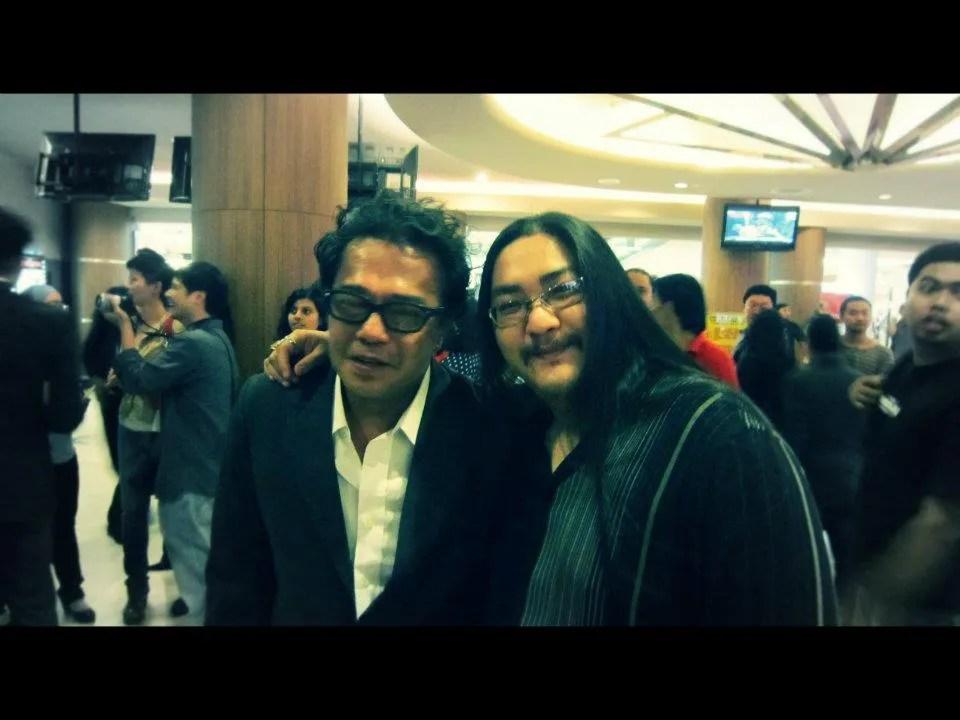 Dain Said (left) and Augustus Tan. Image credit: Augustus Tan