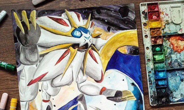 Artist makes a living by painting images of Pokemon!