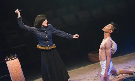 Deric Gan's Richard III is a study on how a weakling can turn evil