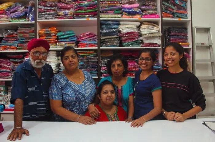 Namvinsha and her supportive family. Image credit: Eksentrika