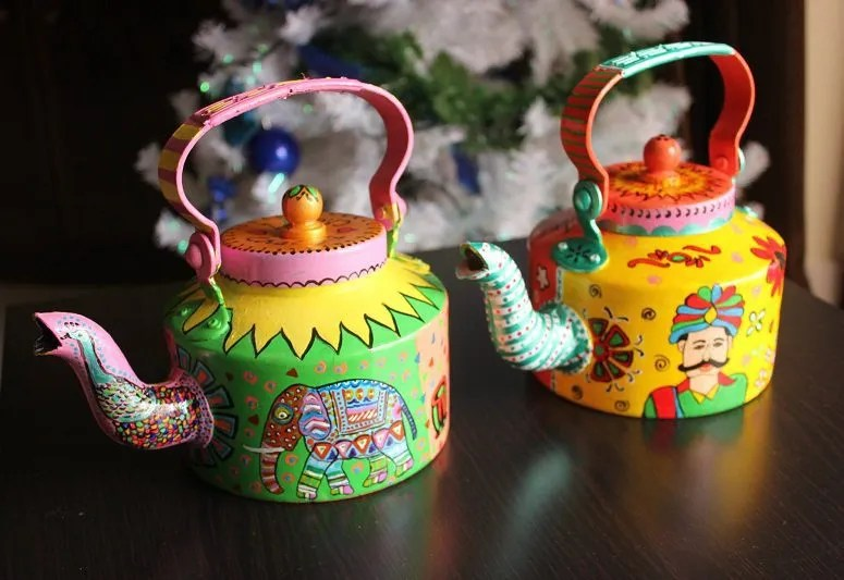 """""""I have found myself again,"""" artist behind these colourful kettles reveal"""