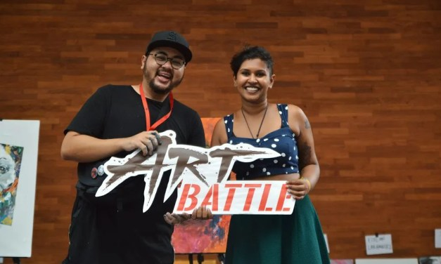 What does it take to be Art Battle Malaysia's champion?