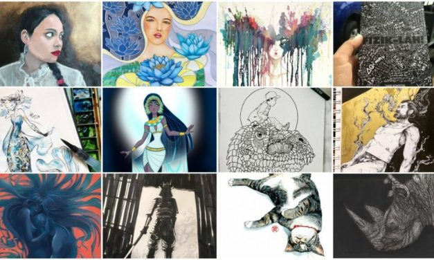 Here are 12 best artworks for 2017 and you get to pick the winner!