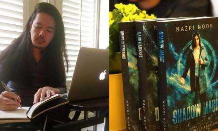 How did Nazri Noor top Amazon best sellers lists through self-publishing?
