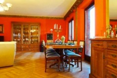 luksusowo urządzone wnętrze willi na sprzedaż w okolicach Wrocławia