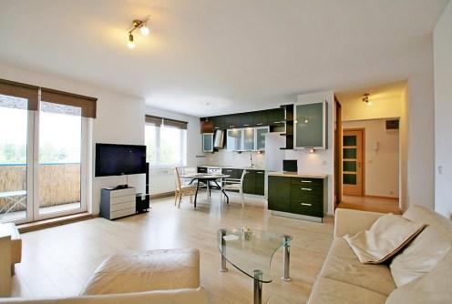 na zdjęciu luksusowe wnętrze apartamentu na sprzedaż w Szczecinie