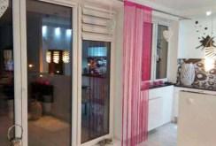 fragment salonu w luksusowym apartamencie na wynajem w Szczecinie