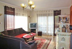 na zdjęciu jedno z luksusowych pokoi w willi w okolicach Krakowa do sprzedaży