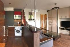 widok na luksusowe wnętrze apartamentu do wynajmu w Szczecinie