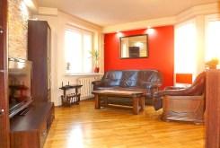 widok na salon w luksusowym apartamencie w Lublinie do sprzedaży