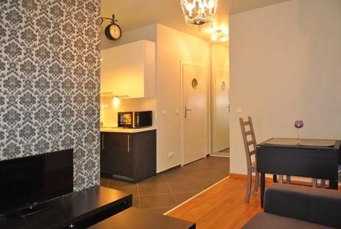 na zdjęciu luksusowe wnętrze ekskluzywnego apartamentu do wynajęcia w Toruniu