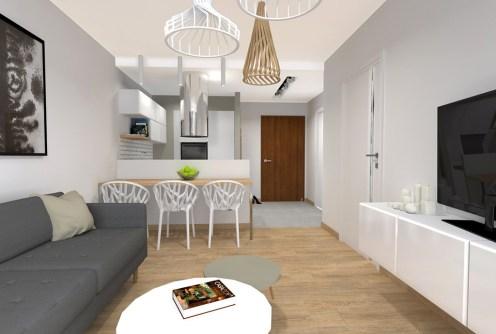 zdjęcie prezentuje wnętrze luksusowego apartamentu do wynajęcia w Katowicach