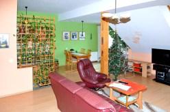 fragment ekskluzywnego salonu w apartamencie w Szczecinie na sprzedaż