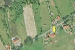zdjęcie z lotu ptaka na willę do sprzedaży na Mazurach