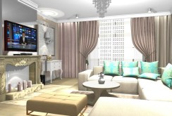 zdjęcie prezentuje luksusowe wnętrze apartamentu do sprzedaży w okolicy Legnicy