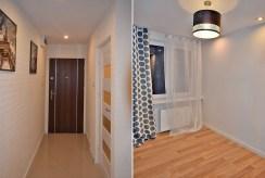 po lewej przedpokój, po prawej jeden z pokoi w ekskluzywnym apartamencie do sprzedaży w Białymstoku