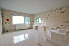 luksusowo wyposażona łazienka w willi w Szczecinie do wynajęcia