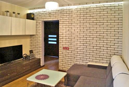 na zdjęciu komfortowe wnętrze luksusowego apartamentu do sprzedaży w Łodzi