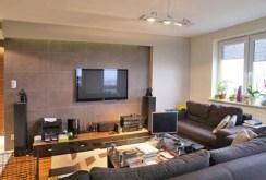widok na salon w luksusowym apartamencie w Białymstoku na sprzedaż