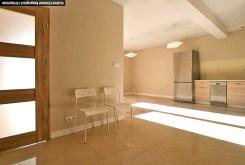 wizualizacja przedstawia przykładową aranżację wnętrza apartamentu w Częstochowie na sprzedaż