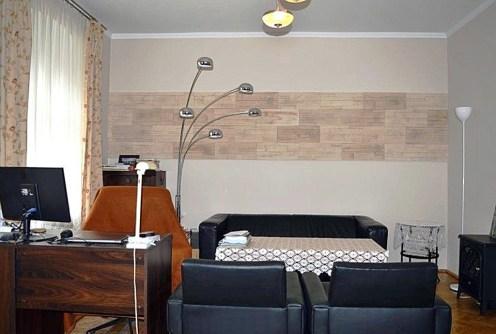 nowocześnie urządzony salon w luksusowym apartamencie do sprzedaży w okolicy Wałbrzycha