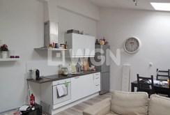 na zdjęciu aneks kuchenny w luksusowym apartamencie na wynajem w Szczecinie