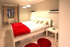 komfortowa, elegancka sypialnia w luksusowym apartamencie do wynajęcia w Szczecinie