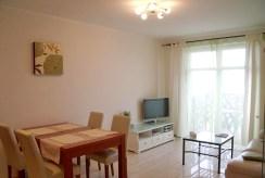 fragment salonu w ekskluzywnym apartamencie do wynajmu we Wrocławiu