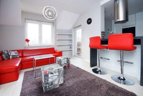 luksusowe wnętrze ekskluzywnego apartamentu do wynajęcia w Gorzowie Wielkopolskim