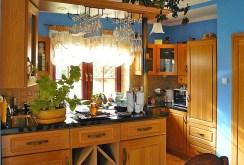 komfortowa, elegancka kuchnia w willi do sprzedaży w okolicach Suwałk