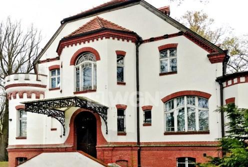 front luksusowej willi na wynajem w Gorzowie Wielkopolskim