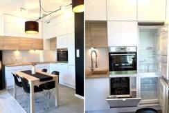 na zdjęciu aneks kuchenny w ekskluzywnym apartamencie na wynajem w Szczecinie