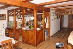 stylowa oryginalna kuchnia z jadalnią w luksusowym dworze do sprzedaży w Gorzowie Wielkopolskim