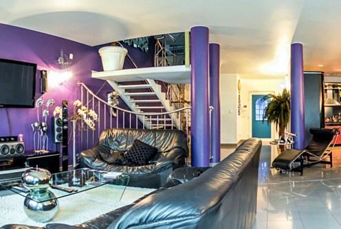 zdjęcie prezentuje luksusowe wnętrze ekskluzywnej willi na sprzedaż w Szczecinie