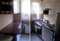 umeblowana, urządzona kuchnia w ekskluzywnym apartamencie w Katowicach na sprzedaż
