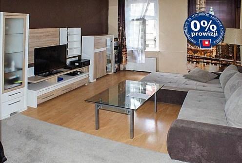 salon w luksusowym apartamencie do sprzedaży w Szczecinie