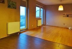 na zdjęciu fragment salonu w luksusowym apartamencie do wynajmu w okolicach Wrocławia