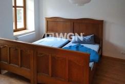 stylowa, elegancka sypialnia w luksusowym apartamencie w Bolesławcu na wynajem