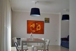 elegancka jadalnia w luksusowym apartamencie w Katowicach na wynajem