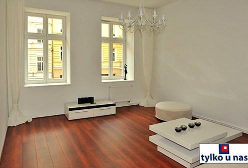 ekskluzywny salon w luksusowym apartamencie do wynajęcia w Szczecinie