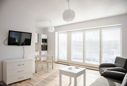komfortowe wnętrze ekskluzywnego apartamentu do wynajęcia we Wrocławiu